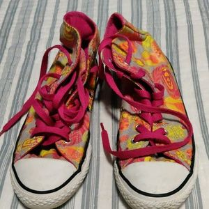 Converse Chuck Taylor Feather Print. Size 4